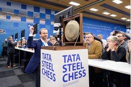 Bezoek FIDE-president en Judit Polgar aan Tata Steel Chess Tournament