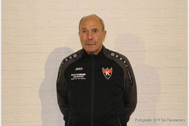 Fred Bischot ook volgend seizoen assistent trainer BVV De Kennemers