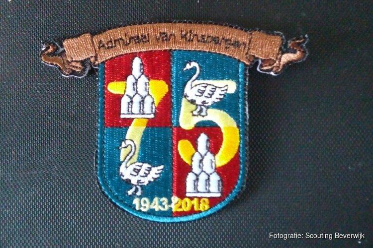 Scoutinggroep Admiraal van Kinsbergen viert 75-jarig bestaan met reünie