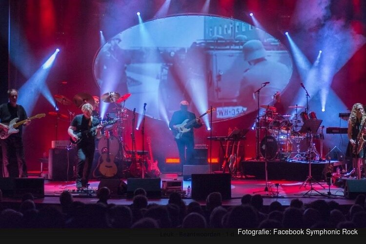 Symphonic Rock Night in het Kennemer Theater in Beverwijk