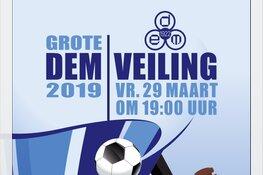 R.K.V.V. DEM organiseert grote veiling op vrijdag 29 maart