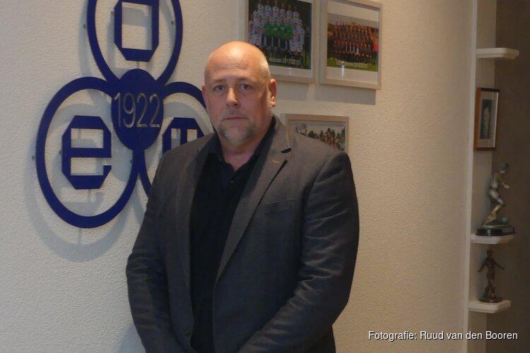 Erwin van Straalen, nieuwe voorzitter van Bestuur Voetbal RKVV DEM