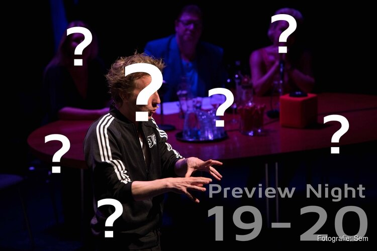 Preview Night en onthulling theatermagazine '19-'20